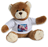 Teddy with photo t-shirt