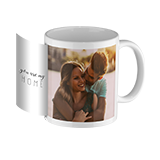 Design photo mug white inside