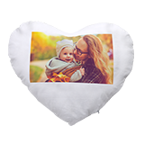 Photo cushion (heart-shaped)